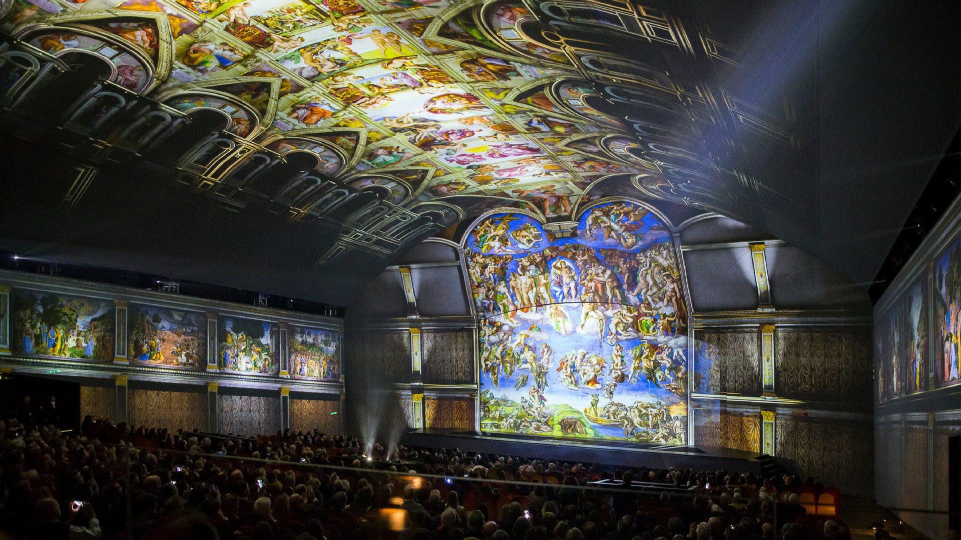 Giudizio Universale The Sistine Chapel Immersive Show